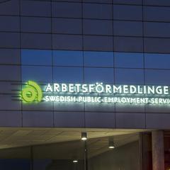 Så utvecklas arbetslösheten i Sverige.